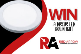 WIN! A Discus LED downlight, courtesy of Red Arrow Electrical Distribution