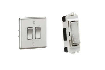 Knightsbridge upgrade the traditional fan isolator switch
