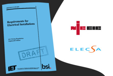 NICEIC & ELECSA comment on Amendment 2 (DPC) | KNOW THE FACTS
