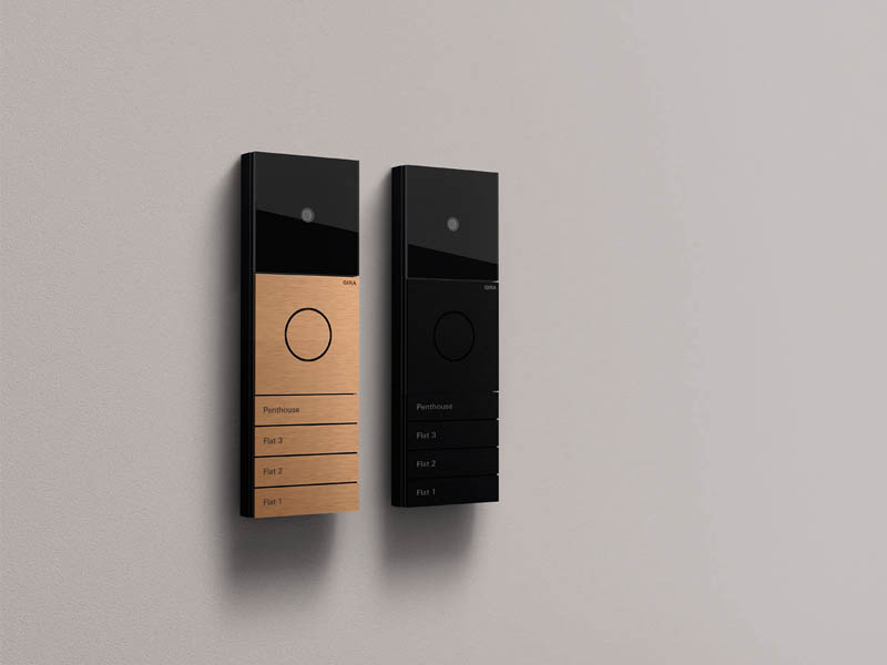 Gira introduce new colours for Gira System 106 Door Station