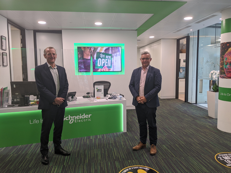 Schneider Electric partners with geo to advance Home Energy Management Systems