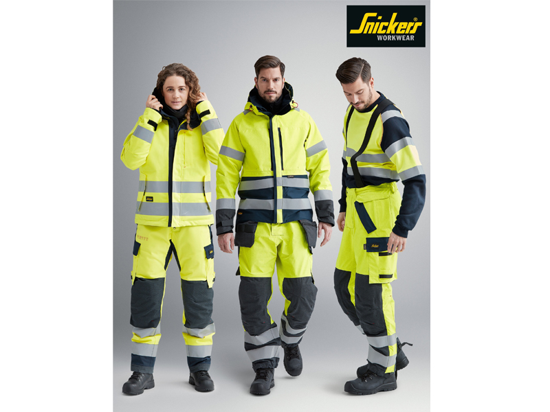 Snickers Workwear - for your health, wellbeing and safety on site