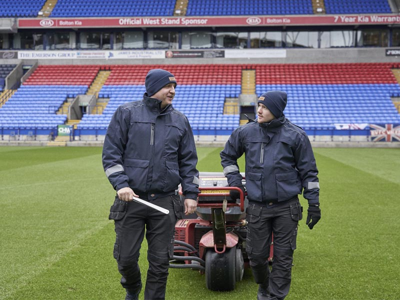 Bolton Wanderers FC puts Dickies' latest range to the test