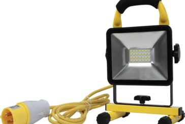 Slim worklights for all sites from Engex