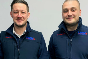 Dream team reunited in Sheffield for LEW Electrical Distributors