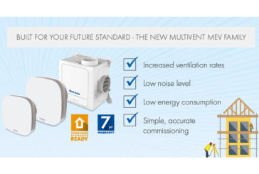 Vent-Axia | Multivent MEV Family to Help Housebuilders Meet the Future Homes Standard