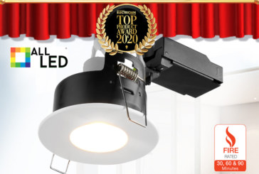 Top Products 2020: ALL LED – iCan75 Fire Rated Downlight