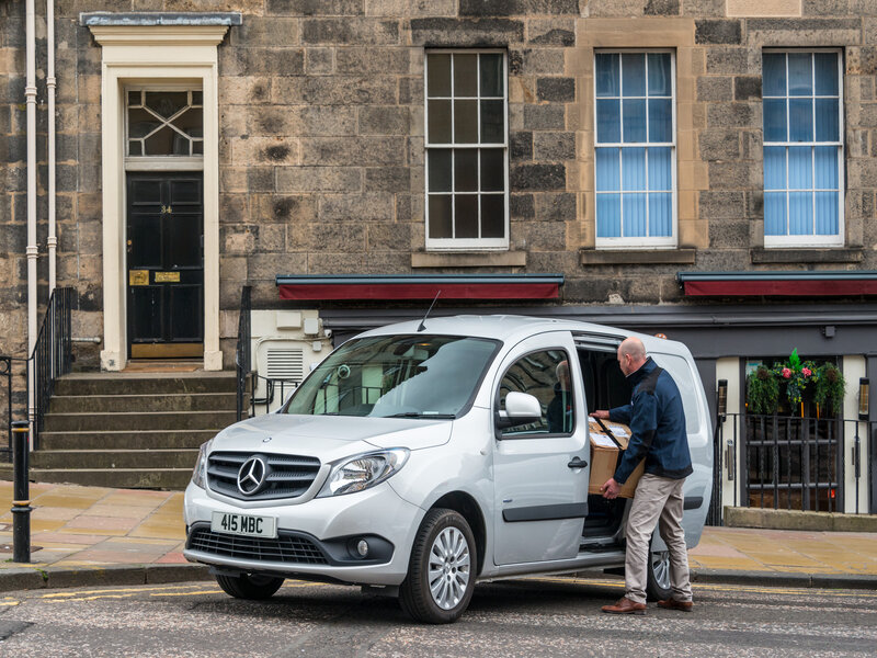 Mercedes-Benz reveals winter campaign to support van community