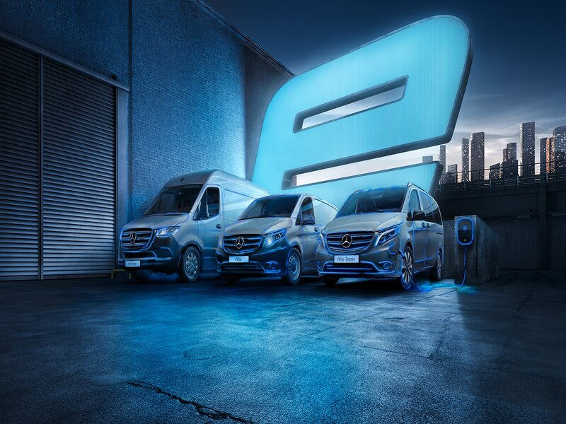 Mercedes-Benz Vans debuts new TV campaign and launch of online showroom