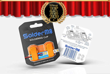 Top Products 2020: SolderM8 – LED Strip Soldering Tool