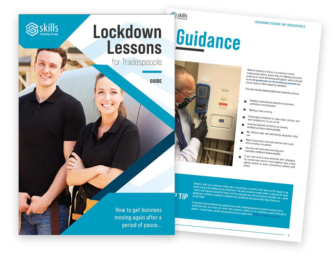 Free training guide for the trades launched | Using Lockdown to bridge the skills gap
