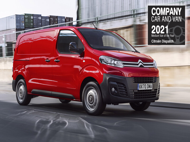 Citroën kicks off the New Year with double win in the Company Car and Van Awards 2021