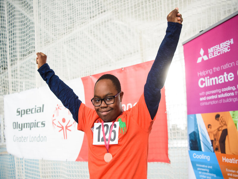 Mitsubishi Electric renews partnership with Special Olympics GB