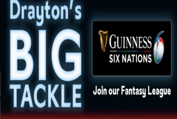 Drayton launches Six Nations Fantasy Rugby League competition