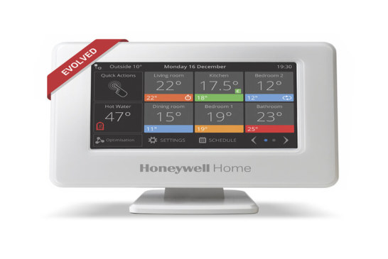 The next generation of Honeywell Home evohome Smart Zoning System | Resideo