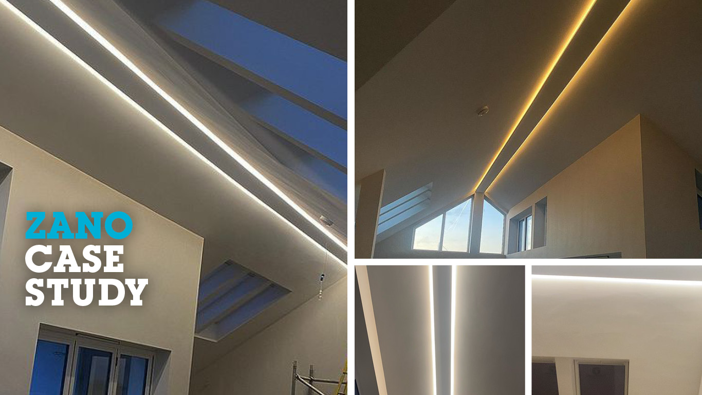 Pairing LED strip lighting with Zano's ZBARLED | Case Study