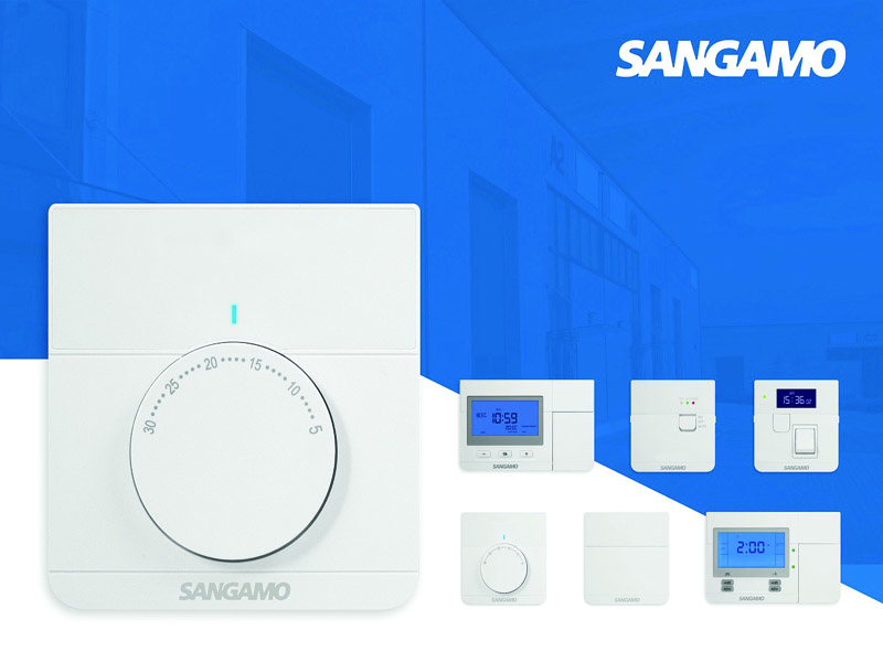 Get ready for the Sangamo heating controls relaunch | Elite Security Products