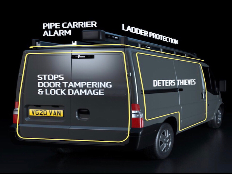 Win! Keep your van safe with a Van Guardian alarm system