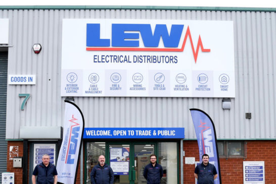 York becomes LEW's 14th branch   LEW Electrical Distributors