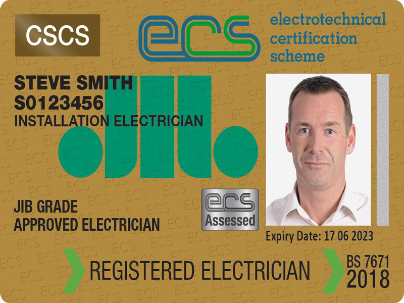 Is it proving hard to get the card? | Electrotechnical Certification Scheme