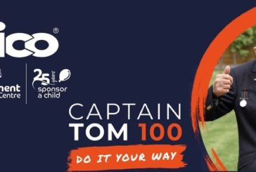Aico join the Captain Tom 100 Challenge