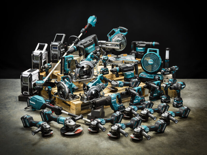 Get hands on with Makita's 40V/80VMAX XGT and outdoor power equipment
