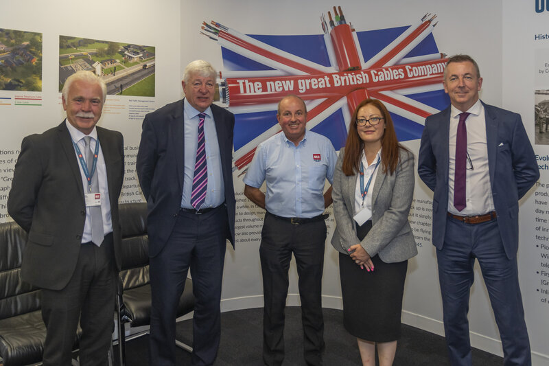 North Manchester MP visits British Cables Company following major business gains